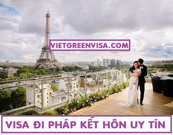 Dịch vụ làm visa đi Pháp kết hôn với công dân Pháp