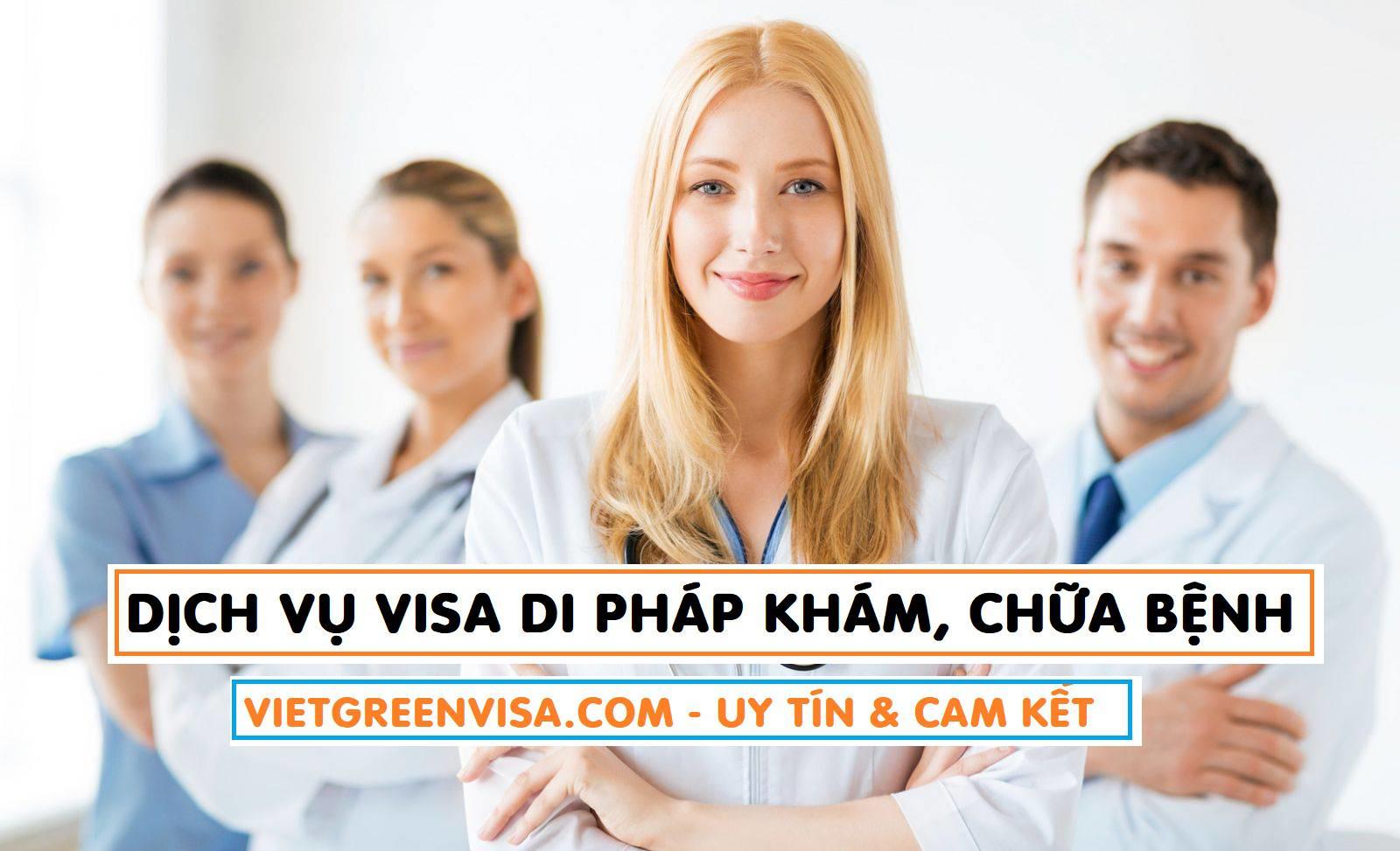 Dịch vụ xin visa đi Pháp khám chữa bệnh cao cấp + Dịch vụ Visa Pháp cao cấp