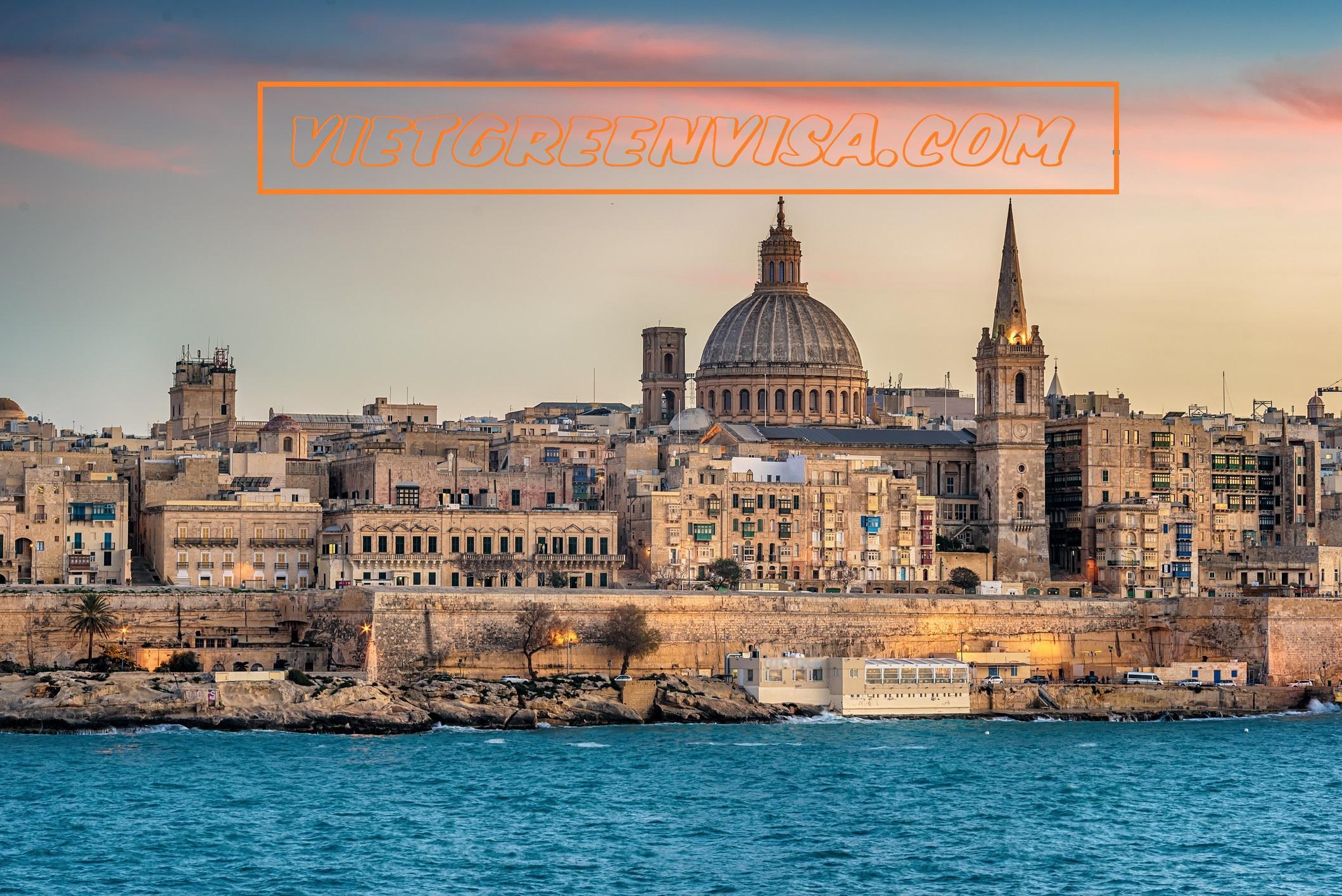 Dịch vụ xin visa du lịch Malta trọn gói
