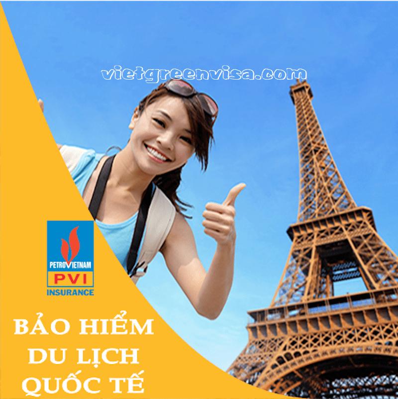 Bảo hiểm du lịch xin visa Pháp giá tốt nhất