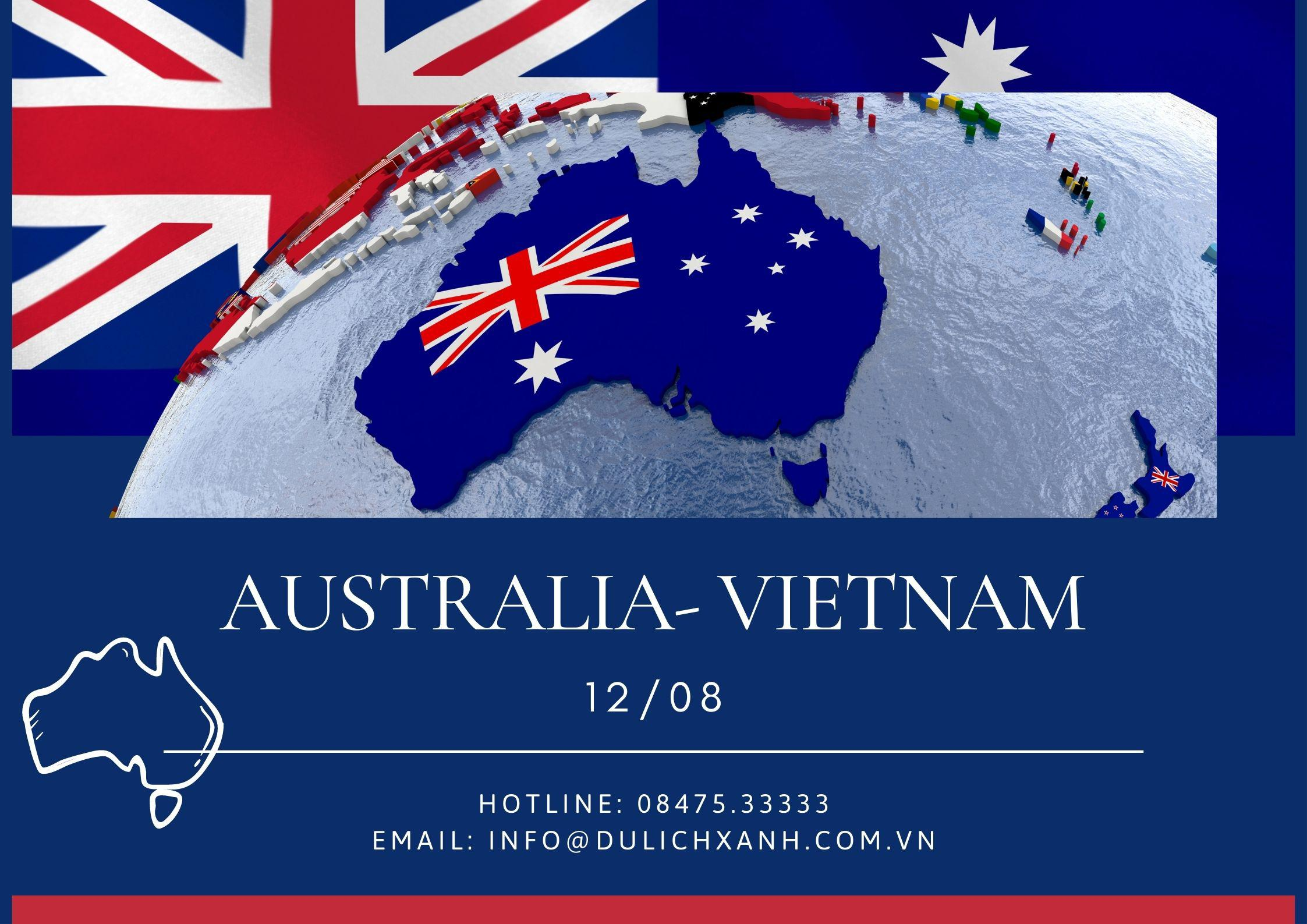 Đăng ký chuyến bay cứu trợ từ Úc về Việt Nam 12/08