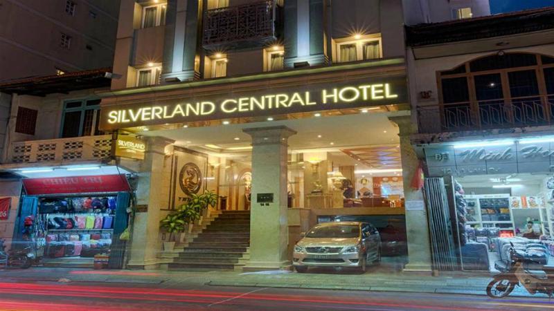 Khách sạn Silverland Central Hotel 3 sao cách ly tại Hồ Chí Minh