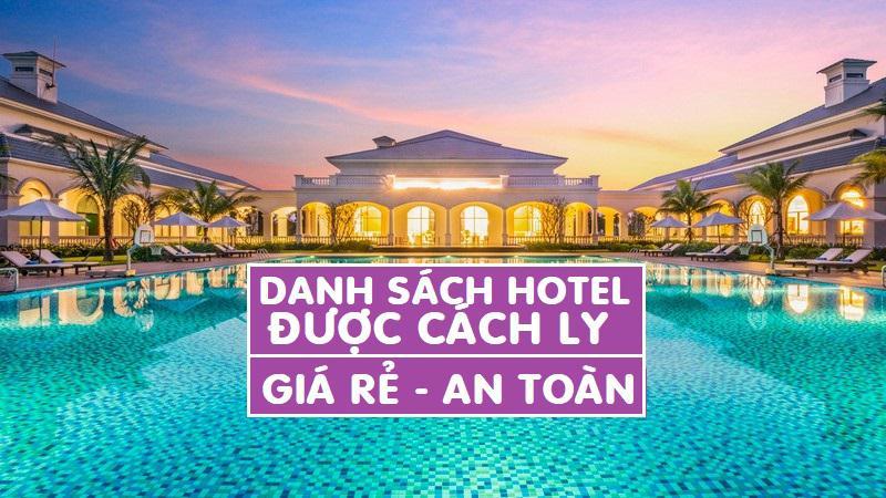 Danh sách khách sạn cách ly y tế tập trung ở Việt Nam cập nhật