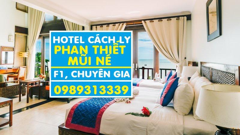 Danh sách khách sạn cách ly tại Mũi Né, Phan Thiết trọn gói cho F1, chuyên gia