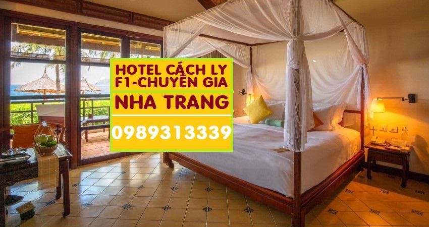 Danh sách khách sạn được cách ly tại Cam Ranh Nha Trang cập nhật