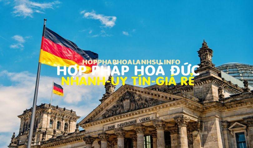 Hợp pháp hoá giấy tờ Việt Nam sử dụng tại Đức