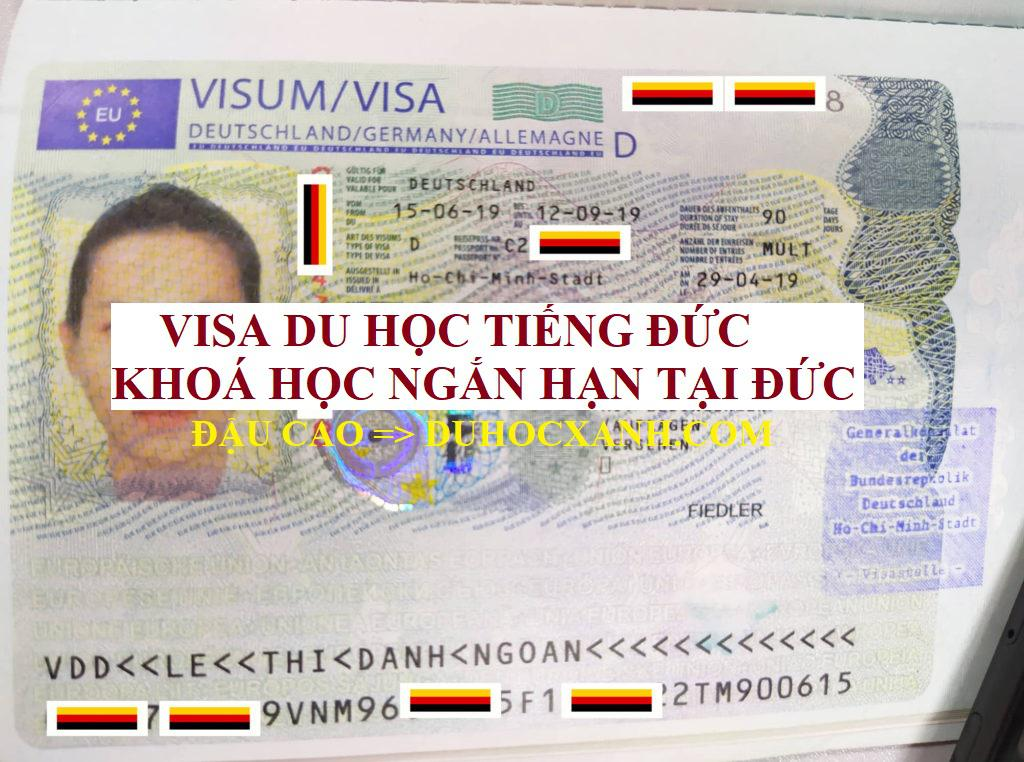 Dịch vụ visa đi Đức học Tiếng và dự khoá học ngắn hạn
