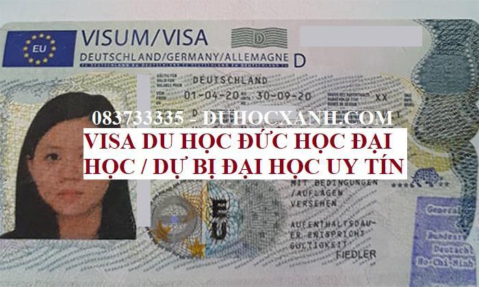 Dịch vụ visa du học Đức học đại học và dự bị Đại học