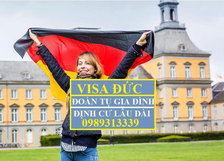 Dịch vụ visa Đức đoàn tụ gia đình. Visa Đức Định cư dài hạn