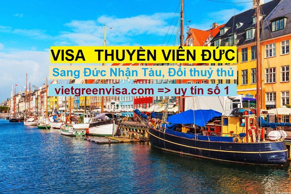 Dịch vụ visa  Đức diện thuyền viên, visa Đức cho đoàn thuỷ thủ
