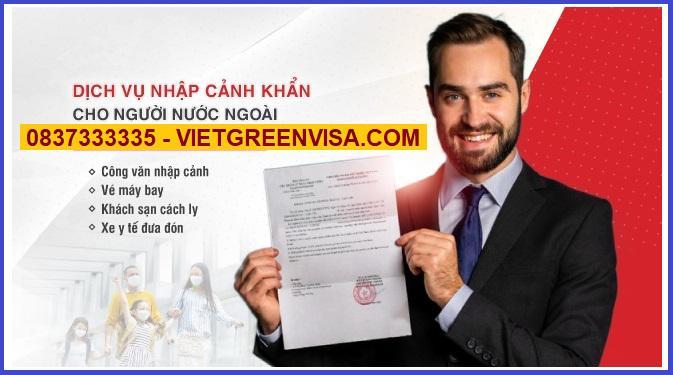 Tư vấn xin công văn nhập cảnh cho chuyên gia vào Việt Nam