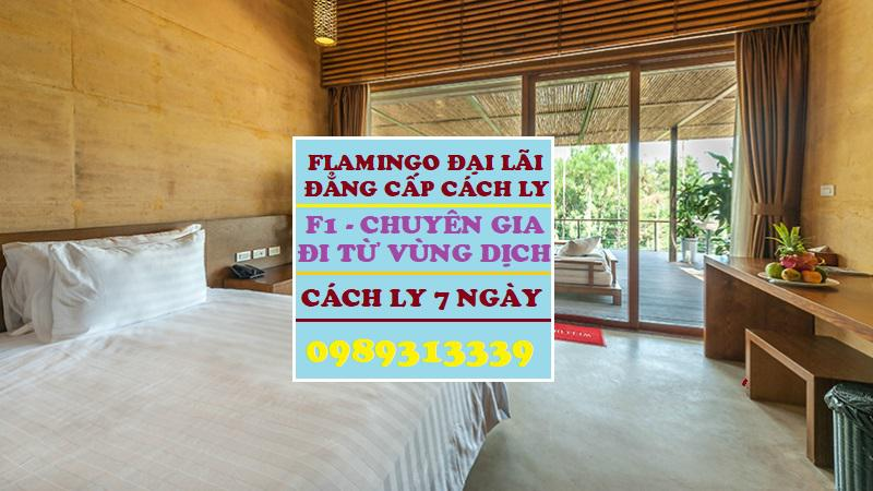 Flamingo Đại Lải Vĩnh Phúc Resort nhận cách ly F1, đối tượng về từ vùng dịch