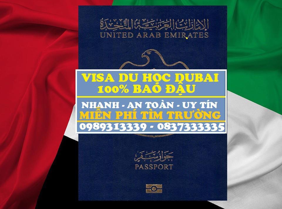 Dịch vụ làm visa du học Dubai, Visa Dubai đi học tiếng, học đại học