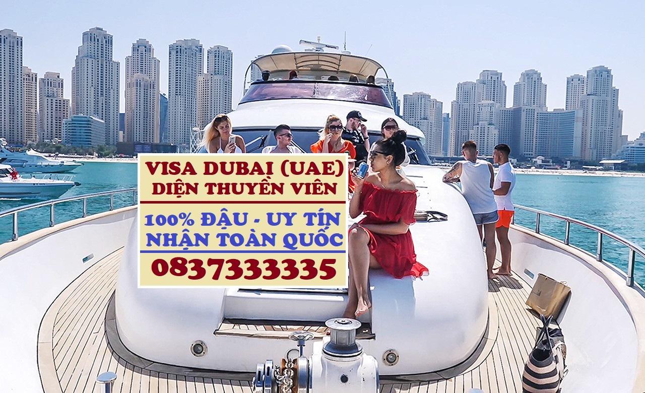 Visa thuyền viên đi UAE, Làm Visa Dubai diện thuyền viên