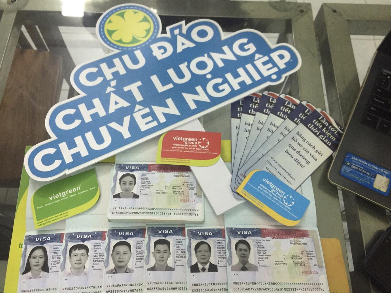 Dịch vụ làm visa Mỹ thăm thân tại Hà Nội, Hồ Chí Minh