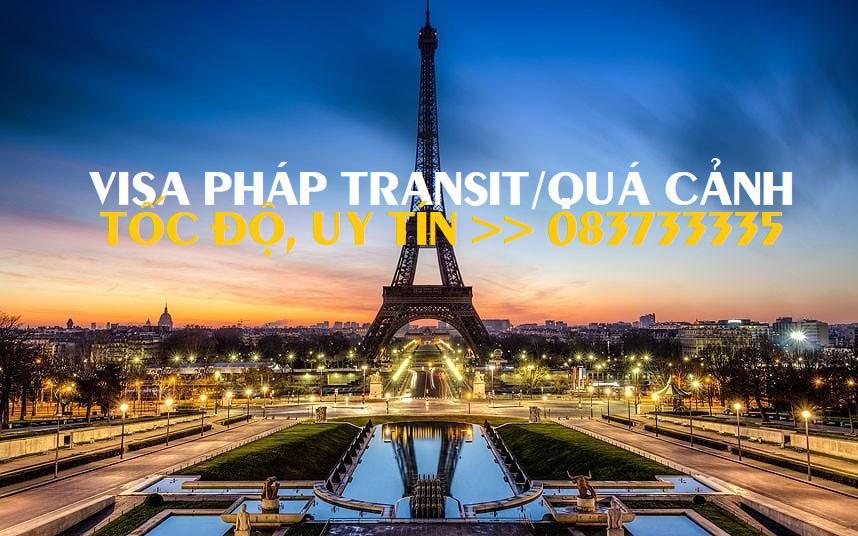 Xin visa Pháp quá cảnh, Làm visa Pháp transit trọn gói
