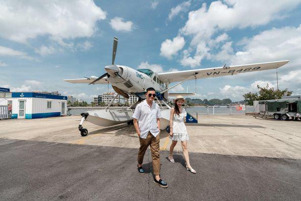 Tour Bay Thủy Phi Cơ chatter trọn chuyến cho Hộ Khẩu Hải Phòng, Quảng Ninh chỉ 750k