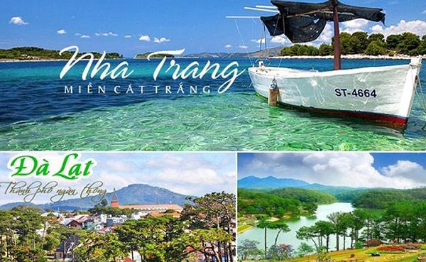 Hà Nội - Nha Trang - Đà Lạt 5N4Đ Bay Vietnam Airlines