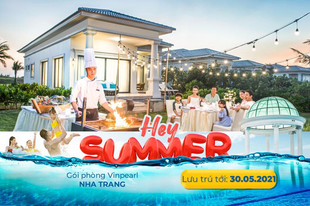[Voucher Vinpearl Nha Trang] Ưu đãi đặt sớm 14 ngày, 2N1Đ phòng/Villa gồm ba bữa tại Vinpearl Discovery Nha Trang giá chỉ hơn 2,7 triệu