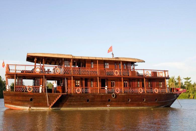 Du thuyền Bassac  - Cần Thơ - Côn Sơn - Cái Răng + KS Nam Bộ Boutique Hotel 2 ngày 1 đêm