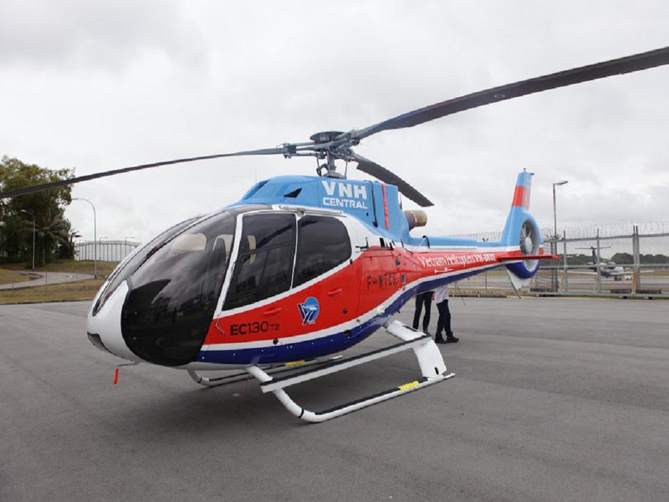 Thưởng ngoạn ngắm cảnh Đà Nẵng bằng trực thăng