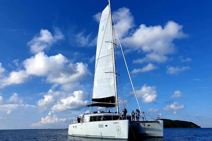 Tour Du Thuyền Sarita 5 sao Phú Quốc 1 ngày
