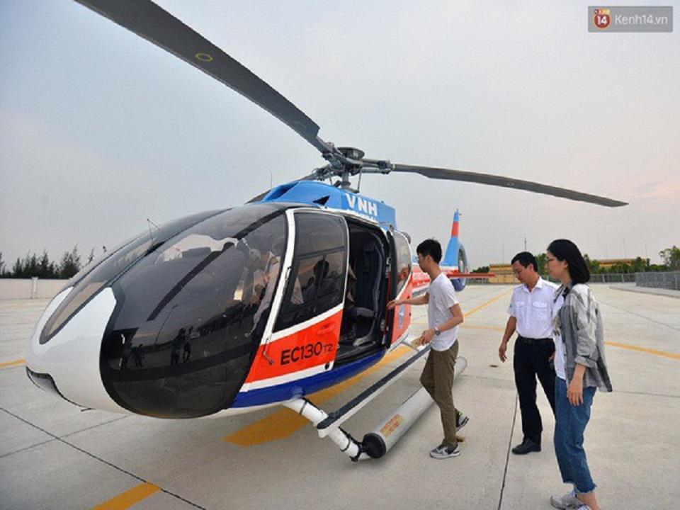 Combo trực thăng Đà Nẵng cho 4 khách chỉ 3.275.000đ một khách