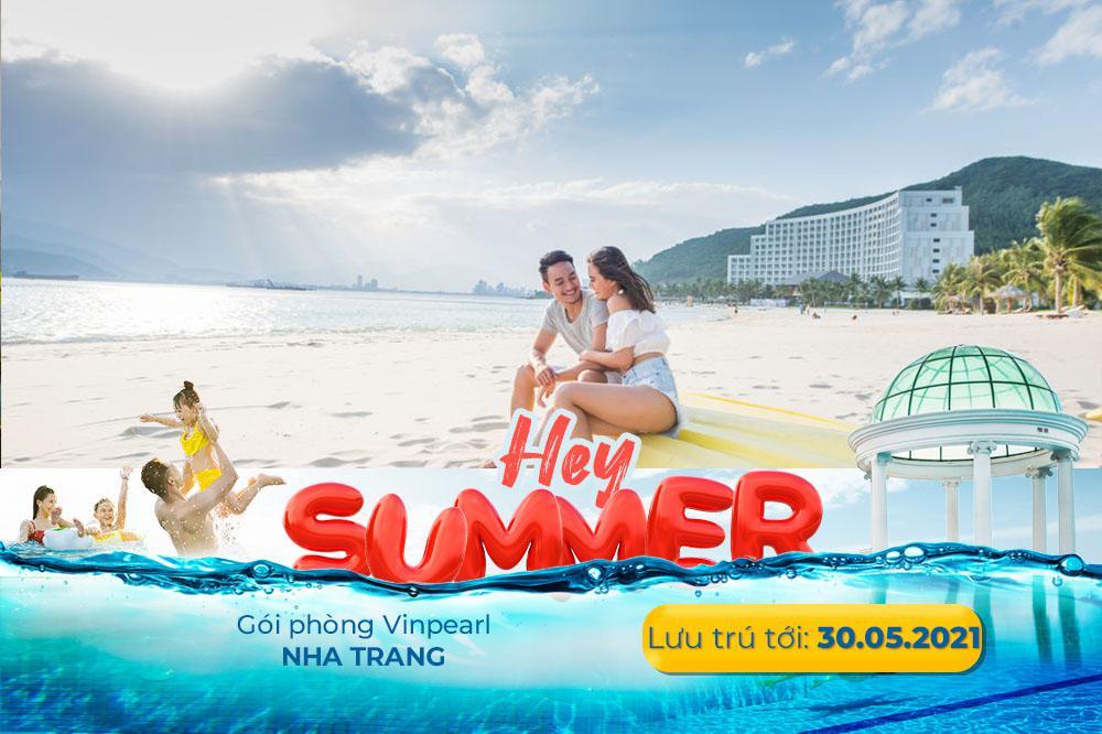 [Voucher Vinpearl Nha Trang] Ưu đãi đặt sớm 14 ngày, 2N1Đ phòng/Villa gồm ăn sáng, vui chơi VinWonders tại Vinpearl Resort & Spa Nha Trang Bay