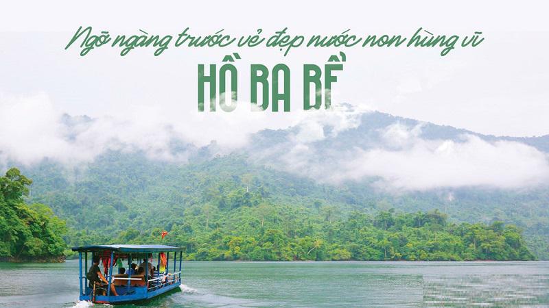 Tour Cao Bằng 3N2D: Hồ Ba Bể - Pắc Ngoài - Thác Bản Giốc - Suối Lê Nin