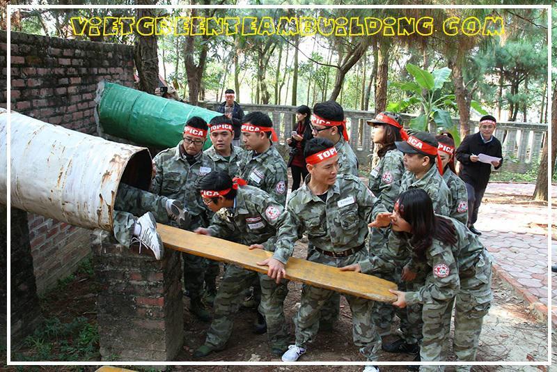 Tổ Chức Team Building Quân Đội 1 ngày tại Khu du lịch Thiên Phú Lâm: Sức mạnh là Chiến thắng