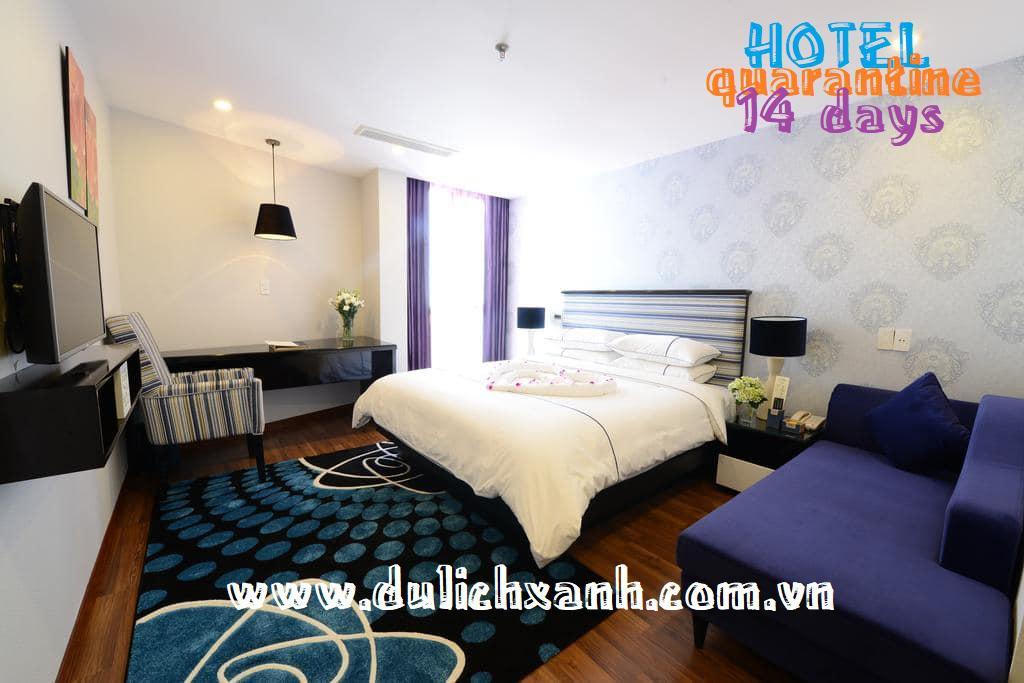 Combo Khách sạn cách ly 22 ngày tại Hồ Chí Minh