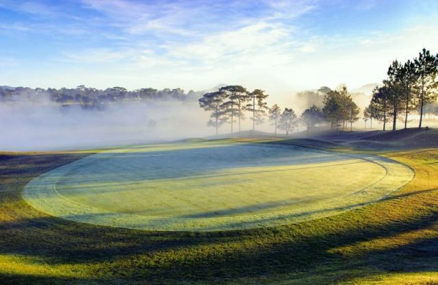 Sân golf Đà Lạt, Dalat Palace Golf Club - 18 Hố - Cuối tuần